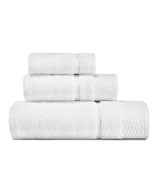 Laura Ashley Harmony Zero Twist 3-Pc. Towel Set