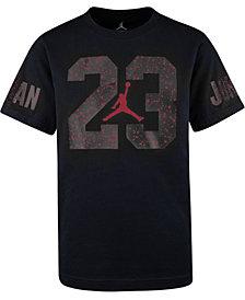 Jordan Little Boys Speckled-Print 23 Cotton T-Shirt