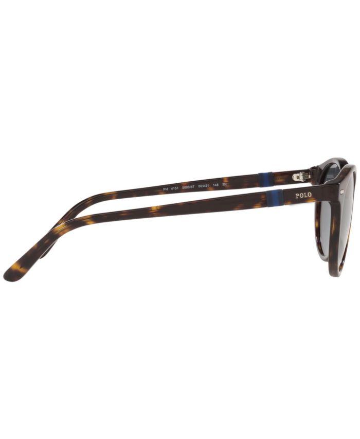 Polo Ralph Lauren Sunglasses, PH4151 50 & Reviews - Sunglasses by Sunglass Hut - Men - Macy's