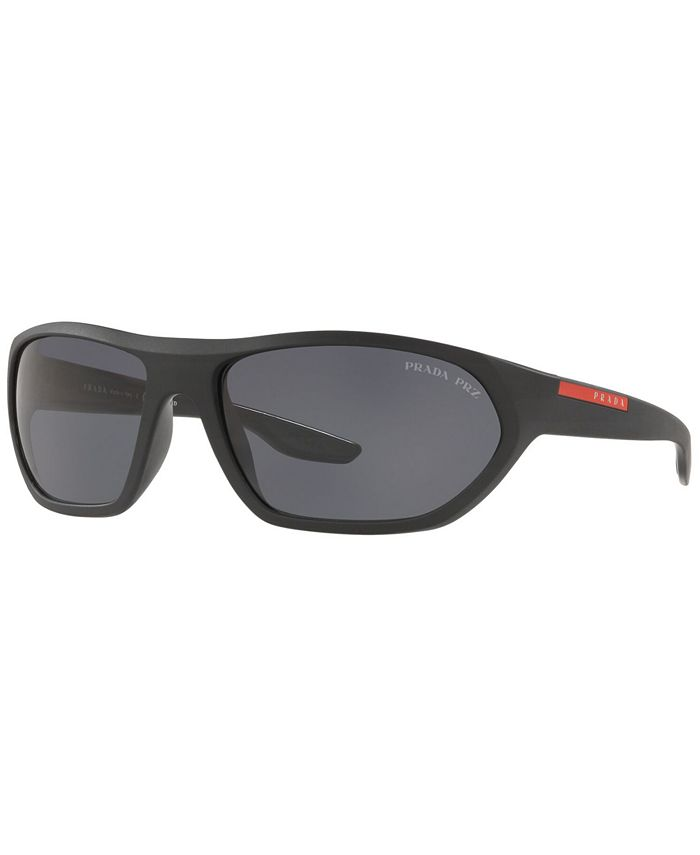 Prada Linea Rossa - Polarized Sunglasses, PS 18US 66 ACTIVE