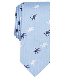 Bar III Men's Skinny Shark Tie, Created for Macy's