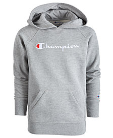 Champion Little Girls Logo-Print Hoodie