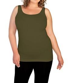 skinnytees Plus Basic Tank