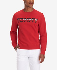 Tommy Hilfiger Men's Tried & True Regular-Fit Embroidered Logo Sweatshirt