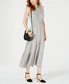 Tiered Sleeveless Maxi Dress