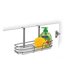 Over Cabinet Door Organizer with Tray