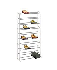 20 Pair 4 Tier Shoe Shelf Organizer