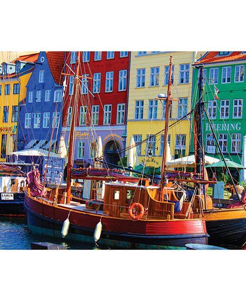 Springbok Puzzles Copenhagen Waterfront 1000 Piece Jigsaw Puzzle