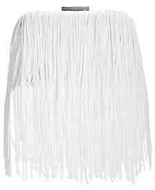 INC Colie Fringe Clutch, Created for Macy's