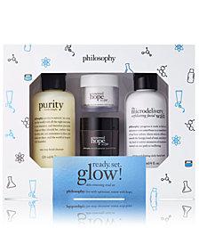 philosophy 4-Pc. Ready. Set. Glow! Renewed Hope In A Jar Trial Set