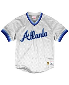 Men's Atlanta Braves Mesh V-Neck Jersey
