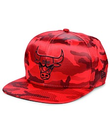 New Era Chicago Bulls Satin Camo 9FIFTY Cap
