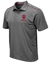 pretty nice 7ab9d 87f53 Colosseum Men s Indiana Hoosiers Eagle Polo
