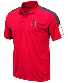 Colosseum Men's North Carolina State Wolfpack Color Block Polo
