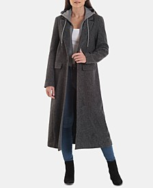 Hooded Maxi Coat