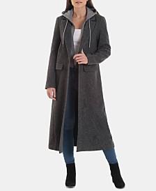 Avec Les Filles Hooded Maxi Coat
