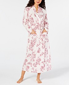 Cotton Floral-Print Robe, Created for Macy's