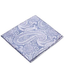 Ryan Seacrest Distinction™ Men's Wakefield Paisley Silk Pocket Square, Created for Macy's