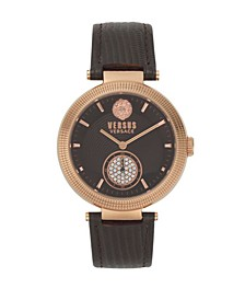 Versus Women's Brown Strap Watch 20mm