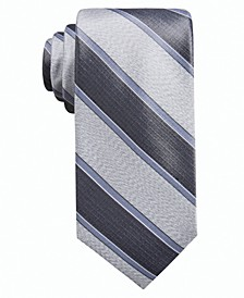 Men's Rue Stripe Slim Tie, Created for Macy's