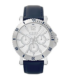 Versus Men's Blue Strap Watch 22mm