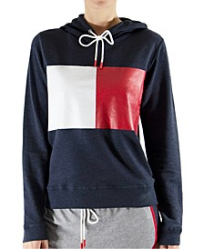 Women's Retro French Terry Lounge Hoodie R26S152