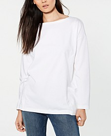 Boat-Neck Tunic, Regular & Petite