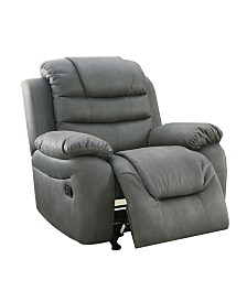 Leatherette Rocker Recliner