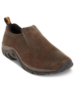 Merrell Jungle Nubuck Moc Slip-On Shoes Men's Shoes