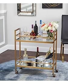 The Mezzanine Shoppe Manhattan Bar Cart