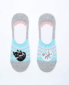 Sock It To Me No Show Caught Cat Handed Socks