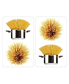 Wenko Universal Cover Plates, Spaghetti Design, Set Of 2