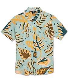 Big Boys Scrap Floral-Print Shirt
