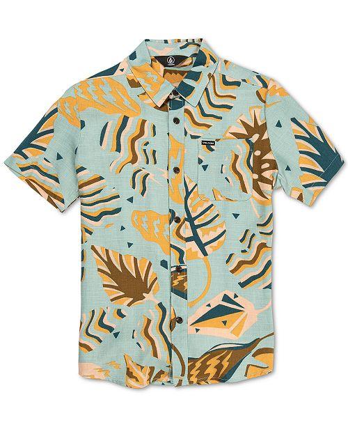 Volcom Big Boys Scrap Floral-Print Shirt