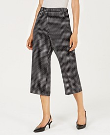 Printed Culotte Pants, Created For Macy's