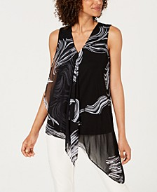 Sleeveless Draped Top, Created For Macy's
