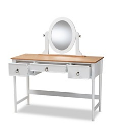 Sylvie Vanity Table, Quick Ship