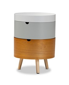 Elison Nightstand, Quick Ship