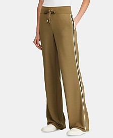 Lauren Ralph Lauren Petite Side-Stripe Sweatpants