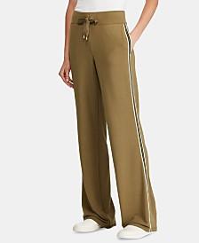 Lauren Ralph Lauren Petite Side-Stripe Sweatpants
