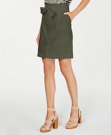 INC Paperbag-Waist Skirt, Created for Macy's
