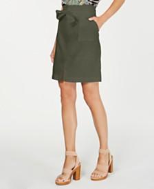I.N.C. Paperbag-Waist Skirt, Created for Macy's