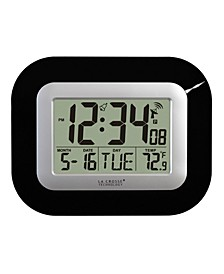 WWVB Digital Clock with Indoor Temperature