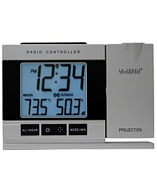 La Crosse Technology Projection Digital Alarm Clock with Temperature