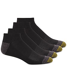 Gold Toe Men's 4-Pk. Circuit No-Show Athletic Socks