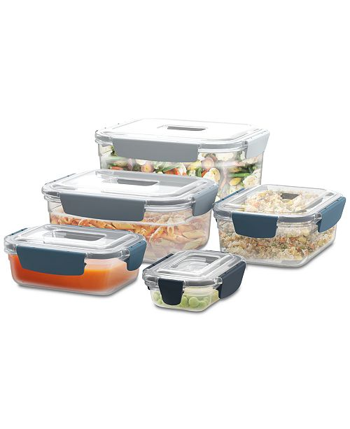 Joseph Joseph Nest Lock 10-Pc. Food Storage Container Set, Editions
