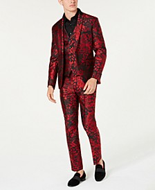 I.N.C. Slim-Fit Animal Print Suit Separates, Created for Macy's