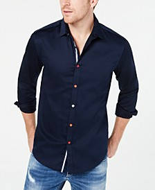 INC Men's Color Trimmed Shirt, Created for Macy's