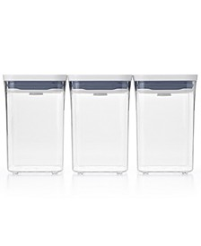 Pop 3-Pc. Food Storage Container Value Set