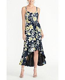 RACHEL Rachel Roy Printed Jersey Maxi Dress